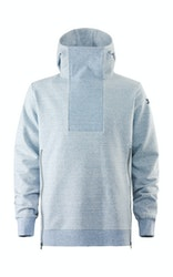 Onepiece Out Hoodie Light Blue Melange