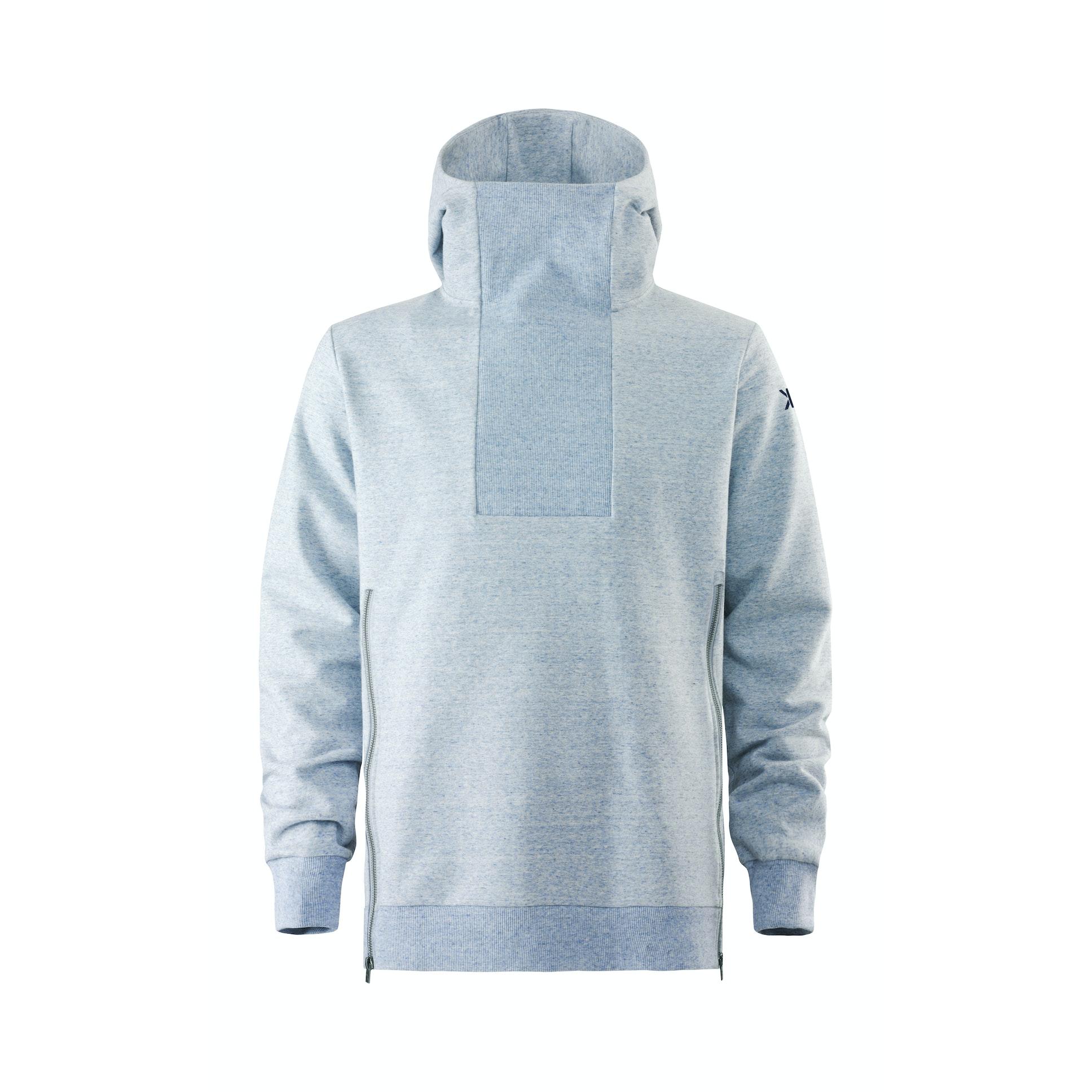 Light blue hoodies