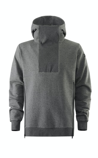 Onepiece Out Hoodie Nep Dark Grey