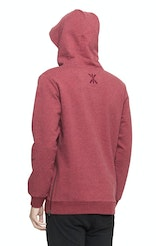 Onepiece Out Hoodie Red Melange