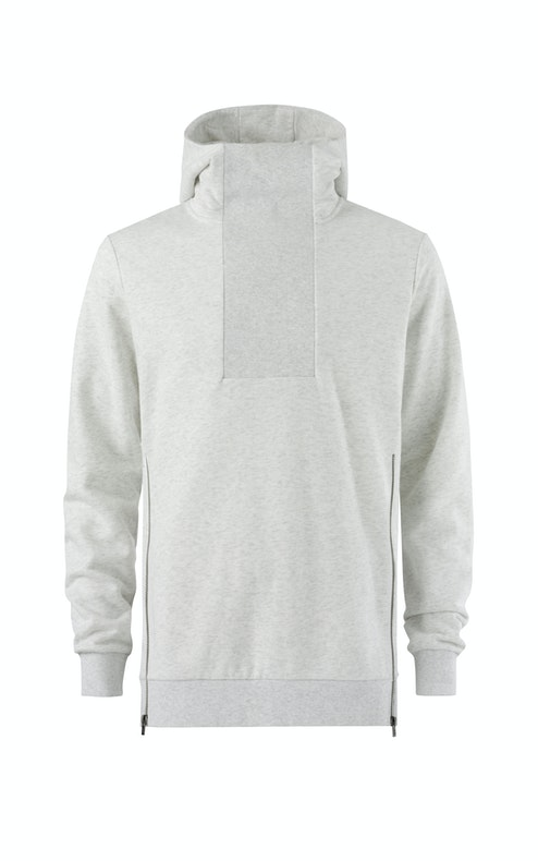 Onepiece Out Hoodie Snow White Mel
