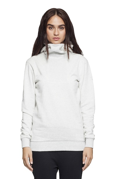 Onepiece Out Hoodie Blanc Neige Chiné