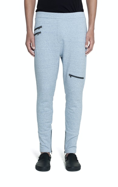 Onepiece Out Pant Light Blue Melange