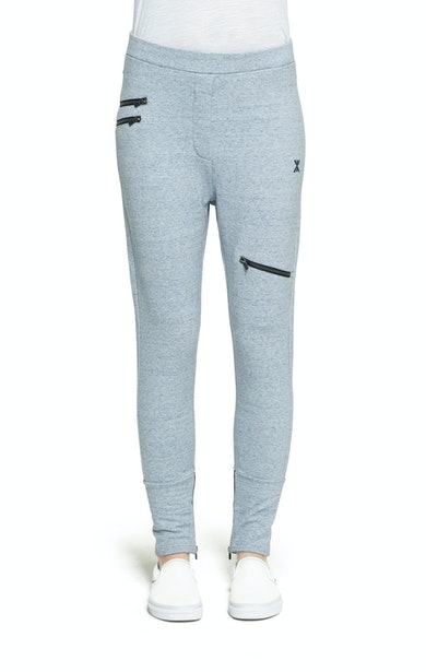 Onepiece Out Pant Hellblau meliert