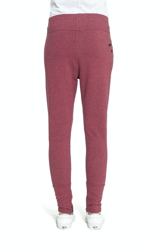 Onepiece Out Pant Red Melange