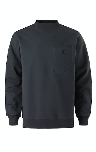 Onepiece Out Sweater Black