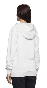 Onepiece Out Zip Hoodie Snow White Mel