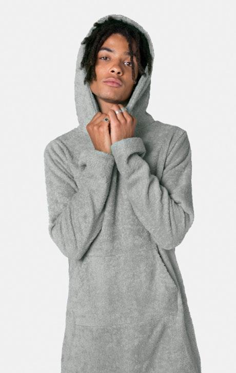 Onepiece Pearl Towel Jumpsuit Grey