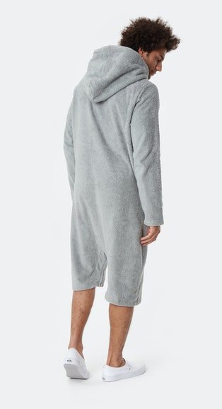 Onepiece Pearl Towel Jumpsuit Grau