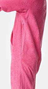 Onepiece Towel Jumpsuit Hot Pink