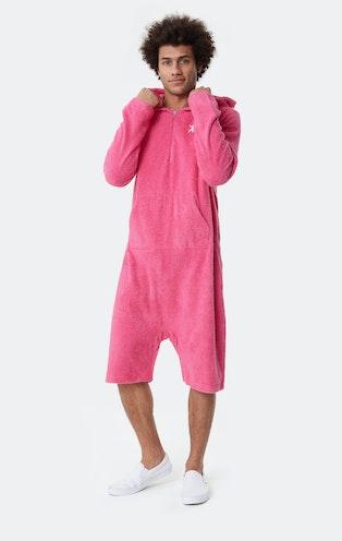 Onepiece Towel Jumpsuit Rose