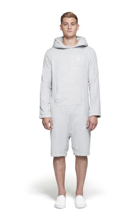Onepiece Pearl Towel Jumpsuit Light Grey
