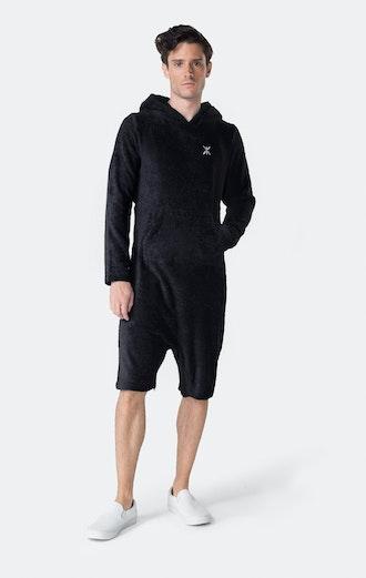 Onepiece Pearl Towel Jumpsuit Navy