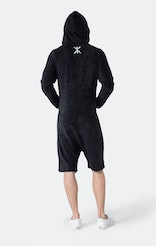 Onepiece Pearl Towel Jumpsuit Navy