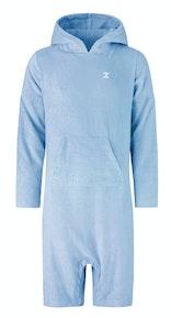 Onepiece Pearl Towel Jumpsuit Sky Blue