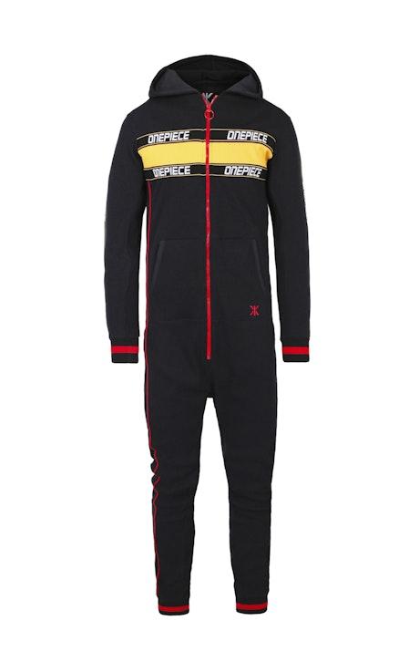 Onepiece Pit Crew Jumpsuit Noir