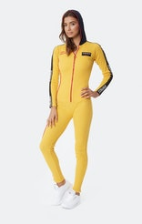Onepiece Pit Crew Womens Jumpsuit Yellow Gold