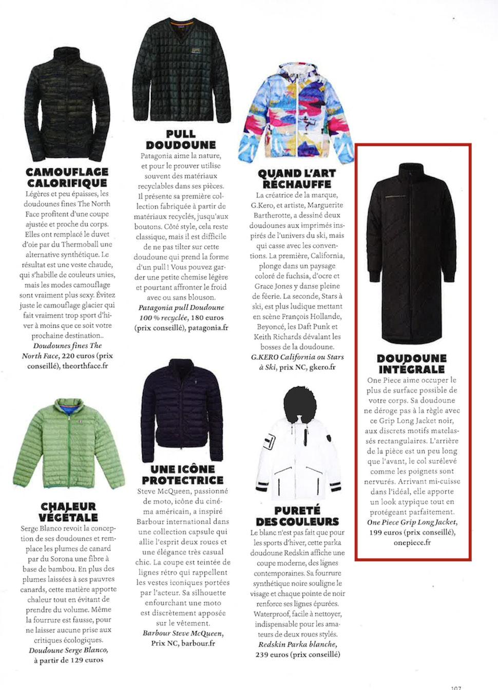 Onepiece dans Plugged Magazine