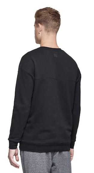 Onepiece Plunge Sweater Black