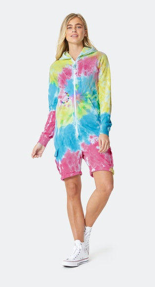 Onepiece Pride Tie Dye Jumpsuit (PRE-ORDER ONLY) Multi