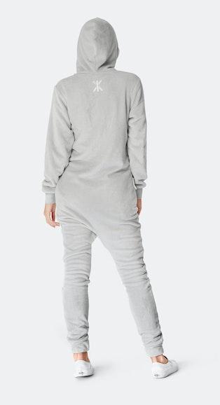 Onepiece Puppy Hug Jumpsuit Grey