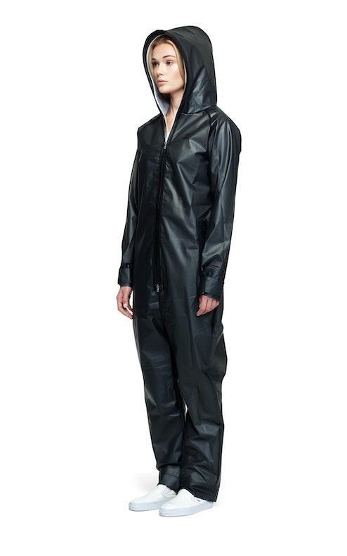 rain jumpsuit transparent black onesie onepiece us. Black Bedroom Furniture Sets. Home Design Ideas