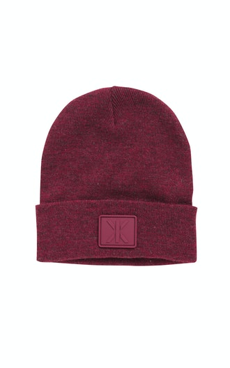 Onepiece Raw Beanie Rouge Chiné