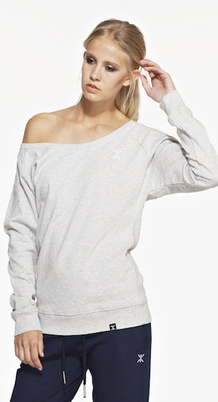 Onepiece React Sweater LW Mid Grey