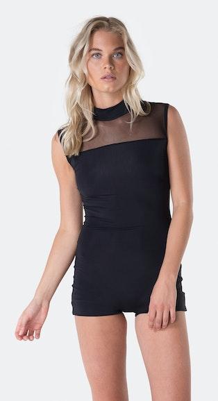 Onepiece Reef Bodysuit Black