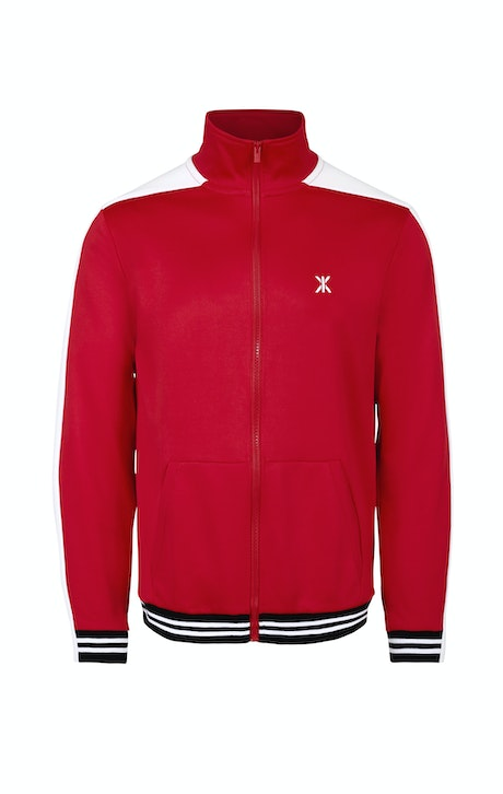 Onepiece Grand Slam 1980 Cardigan Rot