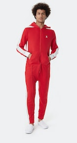 Onepiece Grand Slam 1980 Jumpsuit Red