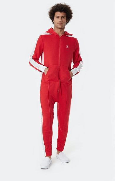 Onepiece Grand Slam 1980 Jumpsuit Rot
