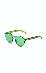 Onepiece Rimless Shades Green