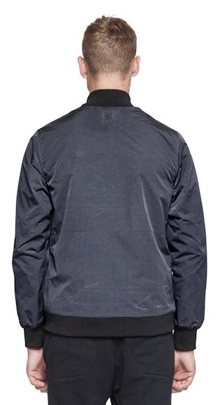 Onepiece Ripple Bomber Jacket Dark Grey