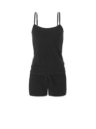Onepiece Rise Jumpsuit Noir