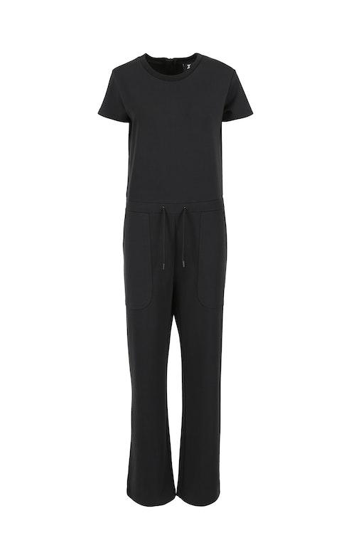 Onepiece Runner Jumpsuit Black