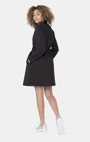 Onepiece Scuba Coat BLACK