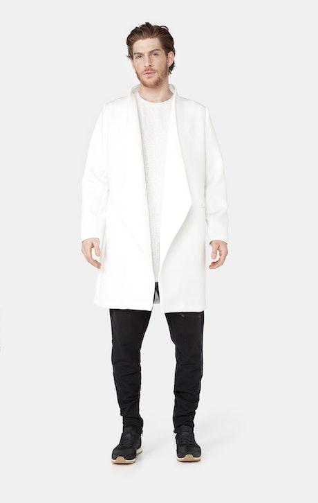 Onepiece Scuba Coat Weiß