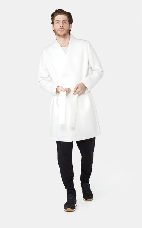 Onepiece Scuba Coat OFF WHITE