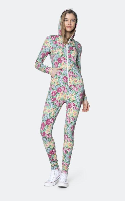 Onepiece Secret Garden slim jumpsuit Multi