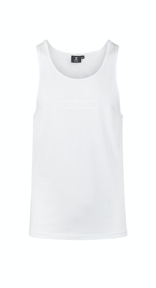 Onepiece Shade Mens Tank White