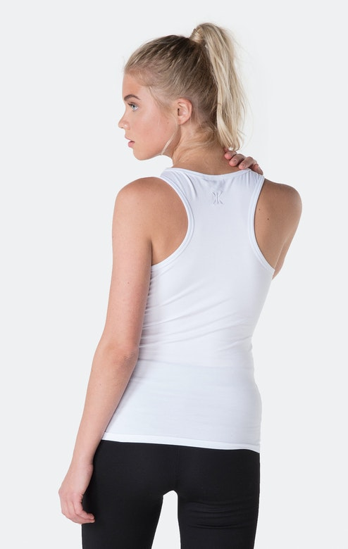 Onepiece Shade Womens Tank White