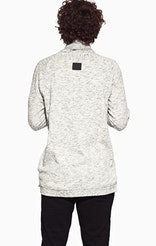 Onepiece Sharp Sweater Grey Heavy Melange