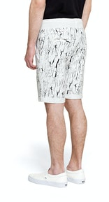 Onepiece Shell Shorts Snow White Printed