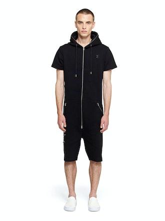Onepiece Shield Jumpsuit Black
