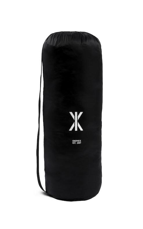 Onepiece Sleeping Bag Jumpsuit Schwarz