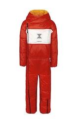 Onepiece Sleeping Bag Jumpsuit Red