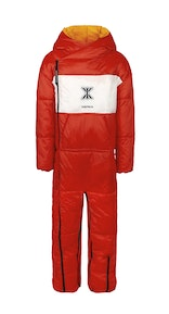 Onepiece Sleeping Bag Jumpsuit Red