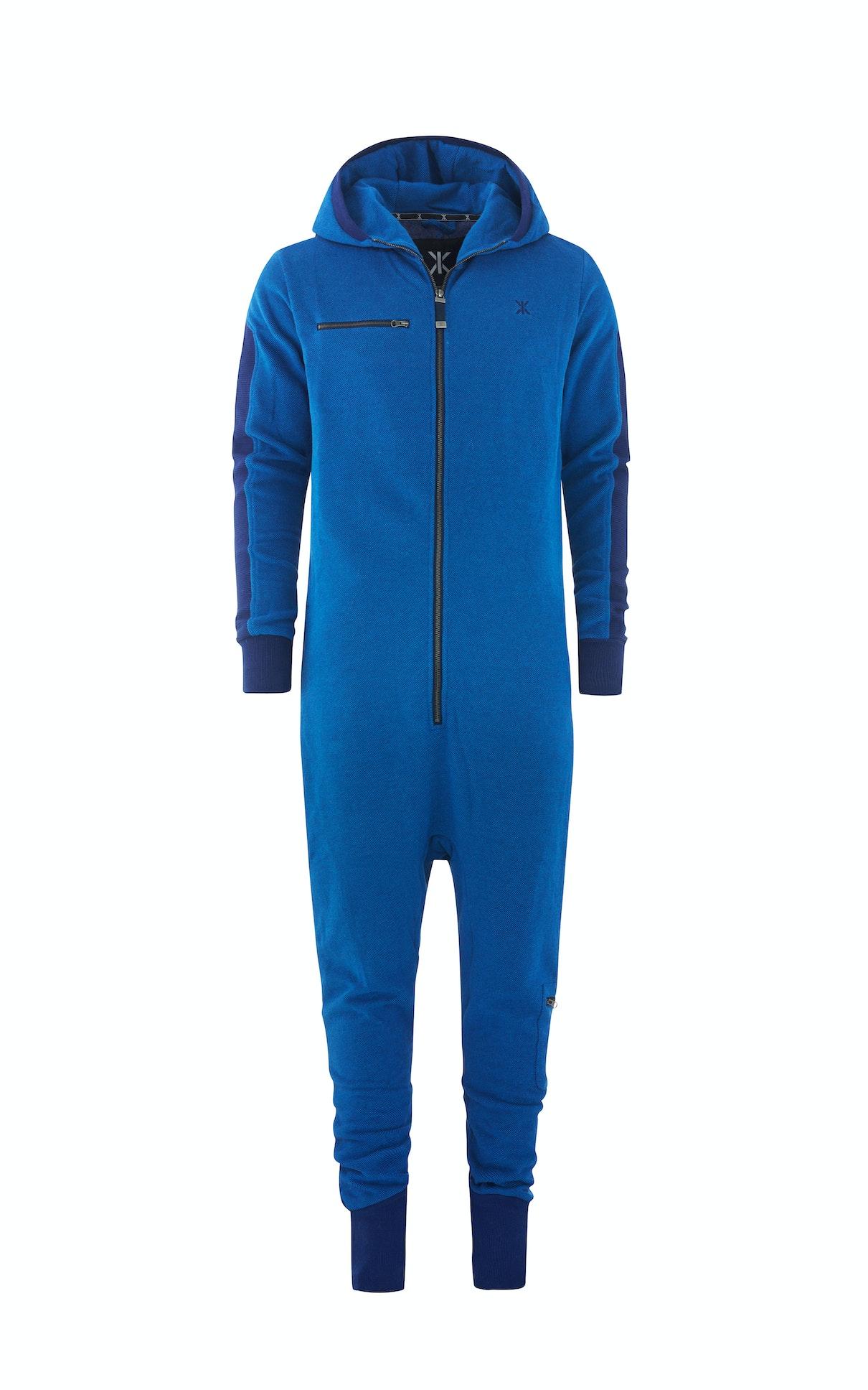 slow jumpsuit depth blue melange onesie onepiece. Black Bedroom Furniture Sets. Home Design Ideas