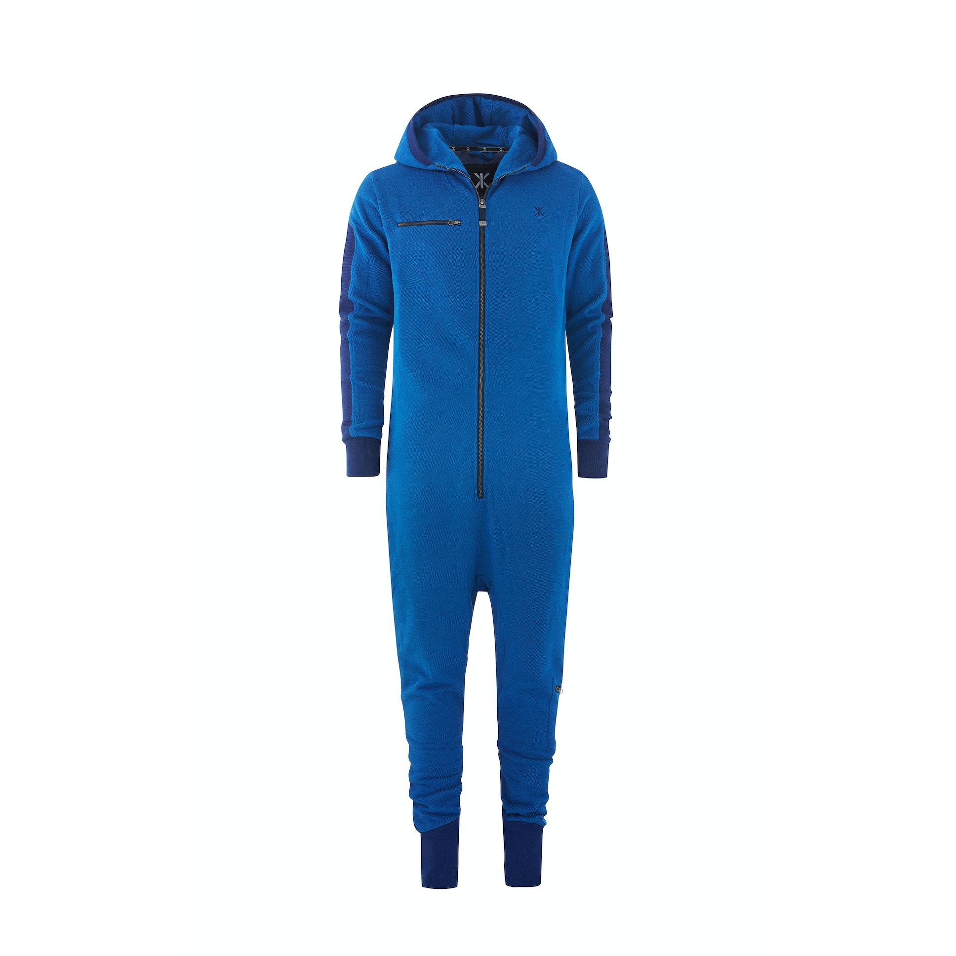 slow jumpsuit depth blue melange onesie onepiece uk. Black Bedroom Furniture Sets. Home Design Ideas